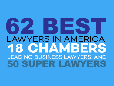Best Lawyers, Super Lawyers, Chambers